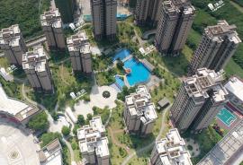 華府國際花園_珠海|0首期|即買即住|香港銀行按揭30年(實景航拍)